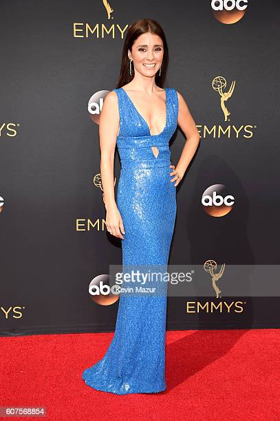 Actress Shiri Appleby attends the 68th Annual Primetime Emmy Awards at Microsoft Theater on September 18 2016 in Los Angeles California