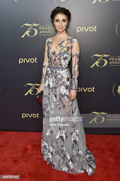 Actress Shiri Appleby attends The 75th Annual Peabody Awards Ceremony at Cipriani Wall Street on May 20 2016 in New York City