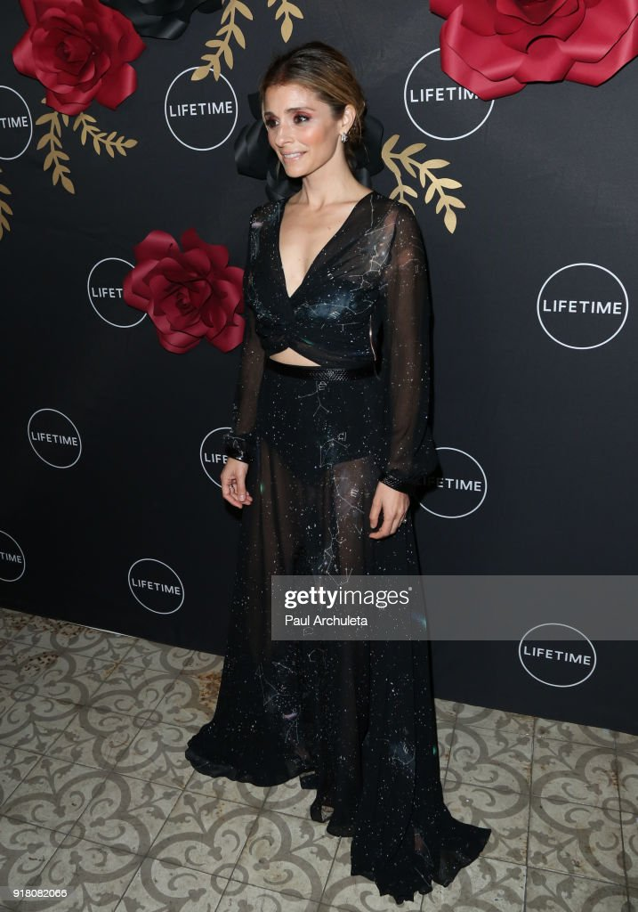 Actress Shiri Appleby attends the Anti-Valentine's bash for premieres of 'UnREAL' And 'Mary Kills People' at Eveleigh on February 13, 2018 in West Hollywood, California.