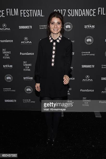 Actress Shiri Appleby attends the 'Lemon' Premiere on day 4 of the 2017 Sundance Film Festival at Library Center Theater on January 22 2017 in Park...