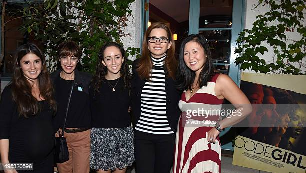 Actress Shiri Appleby filmmaker Andrea Nevins Clare Nevins President and CEO of Full Picture Desiree Gruber and executive producer of Project Runway...