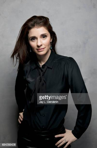 Actress Shiri Appleby from the film Lemon is photographed at the 2017 Sundance Film Festival for Los Angeles Times on January 23 2017 in Park City...
