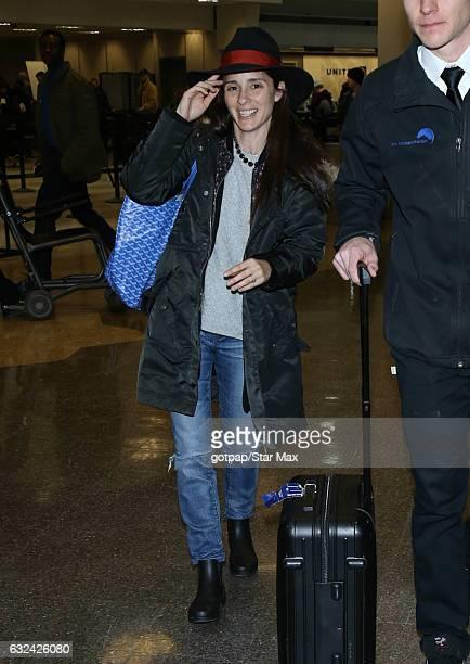 Actress Shiri Appleby is seen on January 22 2017 in Salt Lake City Utah