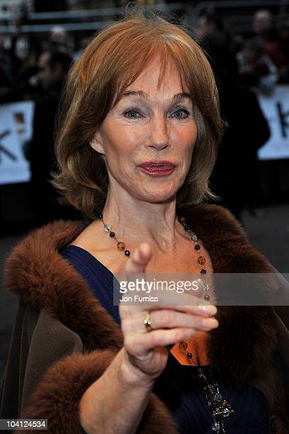 Actress Shirley Anne Field attends 'The Kid' UK premiere at the Odeon Leicester Square on September 15 2010 in London England