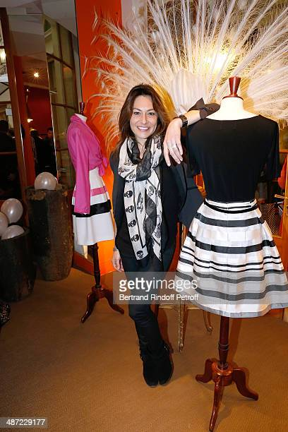 Actress Shirley Bousquet attends the 'Charriol' Ephemeral Boutique opening hosted by Nathalie Garcon at Nathalie Garcon store Galerie Vivienne on...