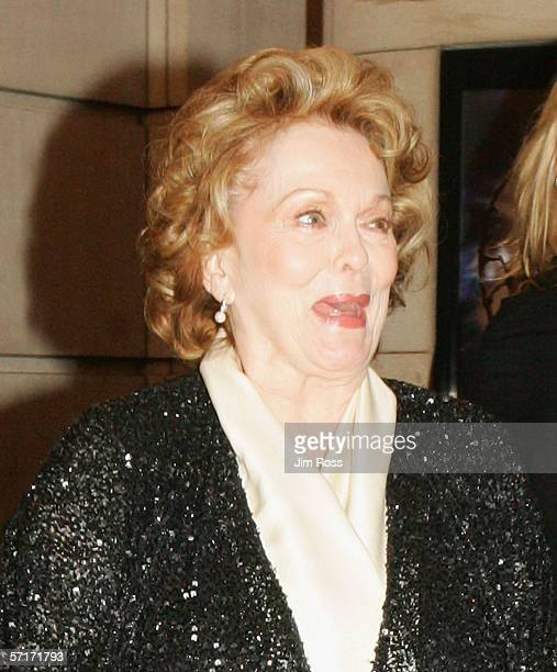 Actress Shirley Douglas arrives at the gala premiere 'Lord of the Rings' play on March 24, 2006 in Toronto, Canada.