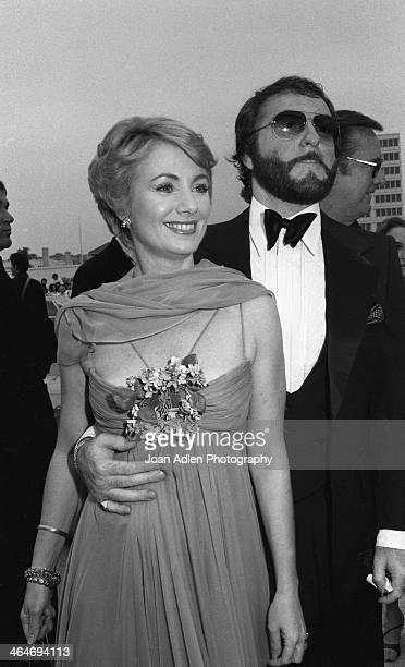 Actress Shirley Jones and comedian Marty Ingles attend the 30th Annual Emmy Awards on September 17 1978 at the Pasadena Civic Auditorium in Pasadena...