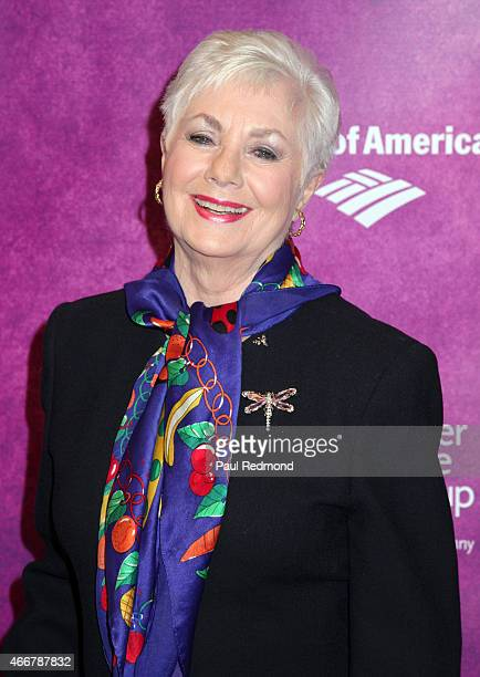 Actress Shirley Jones attends Rodgers Hammerstein's Cinderella Los Angeles Opening Night at Ahmanson Theatre on March 18 2015 in Los Angeles...