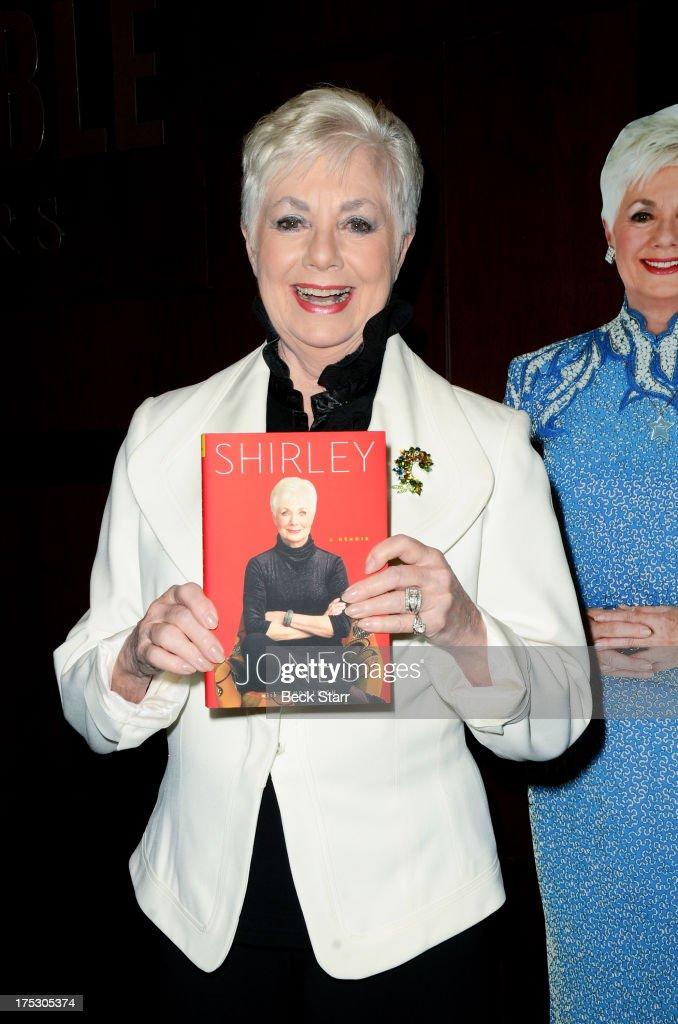 """Shirley Jones Signs Copies Of Her New Book """"Shirley Jones: A Memoir"""""""