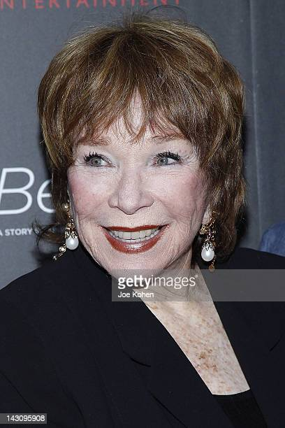 Actress Shirley MacLaine arrives at the premiere Of Bernie at ArcLight Cinemas on April 18 2012 in Hollywood California