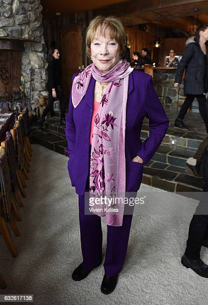 Actress Shirley MacLaine attends Lunch Celebrating Films Powered By Women Hosted By Glamour's Cindi Leive And Girlgaze's Amanda de Cadenet During...