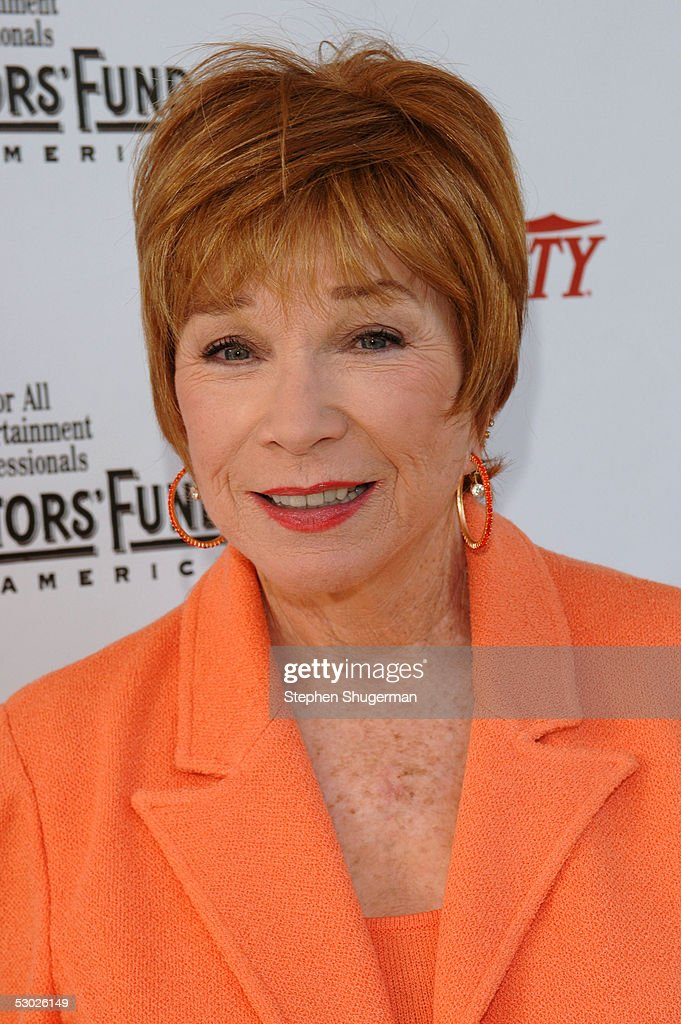 Actress Shirley MacLaine attends The 2005 Tony Awards Party & 'The Julie Harris Award', which honored Stockard Channing, at the Skirball Center on June 5, 2005 in Los Angeles, California.