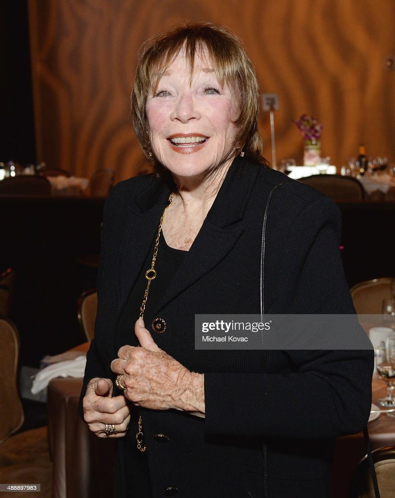 Actress Shirley MacLaine attends the Anti-Defamation League Entertainment Industry Dinner Honoring Roma Downey And Mark Burnett at The Beverly Hilton Hotel on May 8, 2014 in Beverly Hills, California.