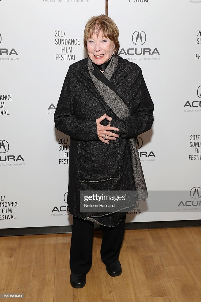 Actress Shirley MacLaine attends 'The Last Word' Party at the Acura Studio at Sundance Film Festival 2017 on January 24, 2017 in Park City, Utah.