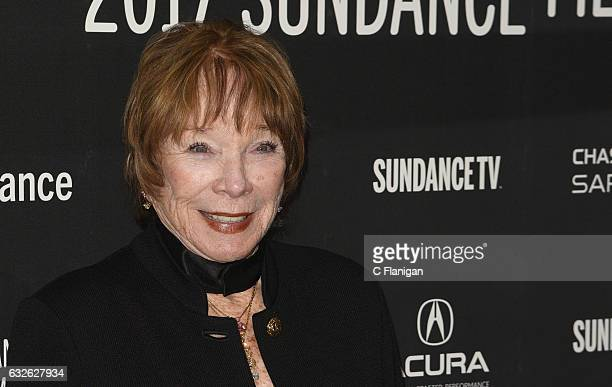 Actress Shirley MacLaine attends 'The Last Word' Premiere at Eccles Center Theatre on January 24 2017 in Park City Utah
