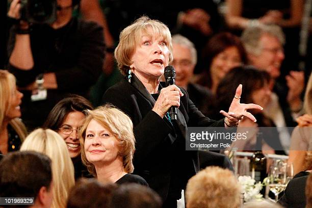 Actress Shirley MacLaine in the audience during the 38th AFI Life Achievement Award honoring Mike Nichols held at Sony Pictures Studios on June 10...