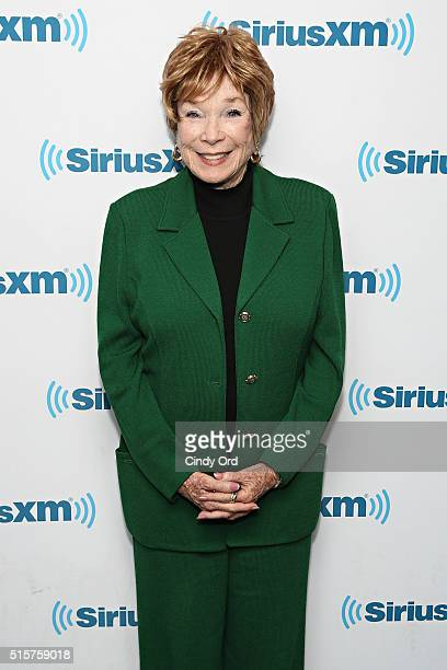 Actress Shirley MacLaine takes part in SiriusXM's 'Town Hall' with Shirley MacLaine hosted by Editorial Director at PEOPLE and EW Jess Cagle at the...