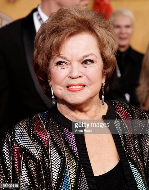 Actress Shirley Temple Black arrives at the 12th Annual Screen Actors Guild Awards held at the Shrine Auditorium on January 29 2006 in Los Angeles...