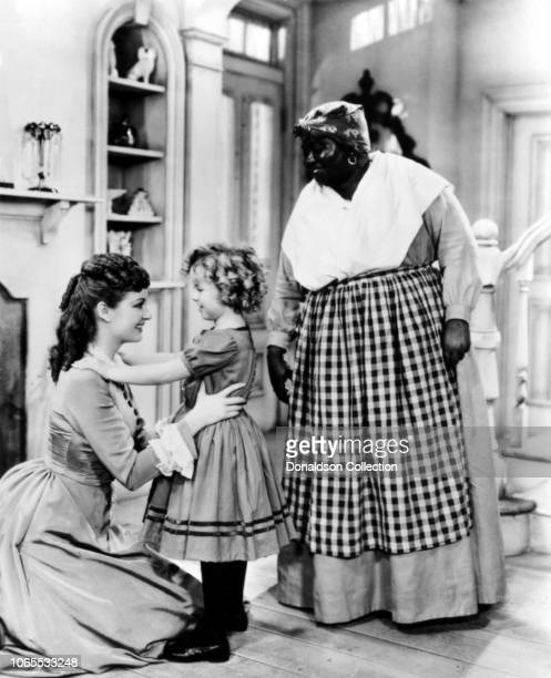 Actress Shirley Temple Evelyn Venable and Hattie McDaniel in a scene from the movie The Little Colonel