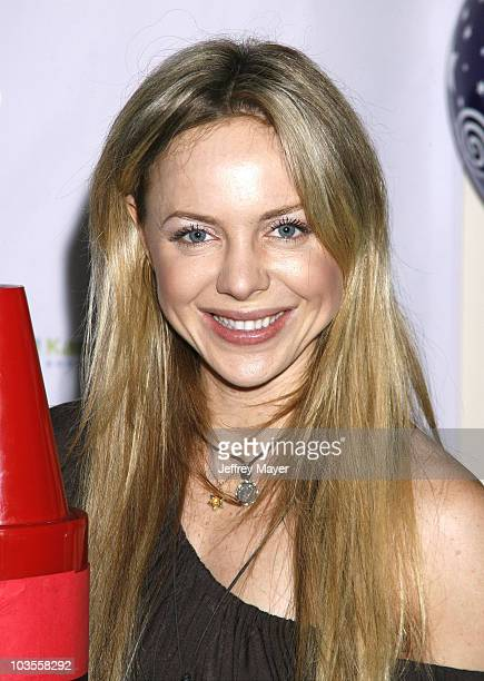 """Actress Shirly Brener poses during the Jayneoni Moore """"Readalicious"""" Book Bash at the Century Plaza Hotel on March 1, 2008 in Los Angeles, California."""