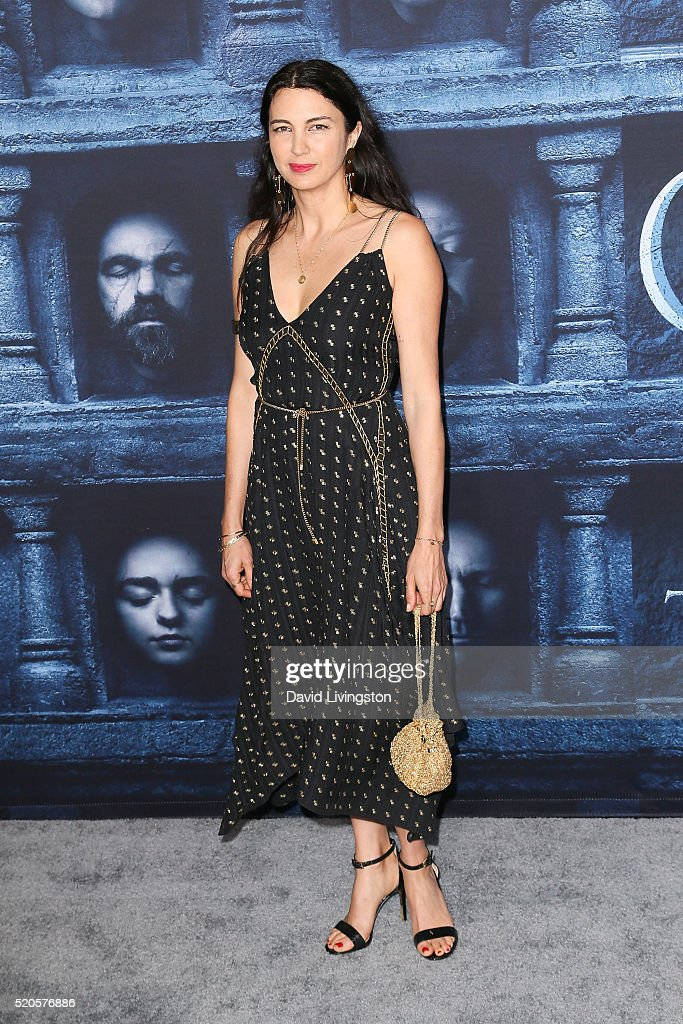 Actress Shiva Rose arrives at the premiere of HBO's 'Game of Thrones' Season 6 at the TCL Chinese Theatre on April 10, 2016 in Hollywood, California.