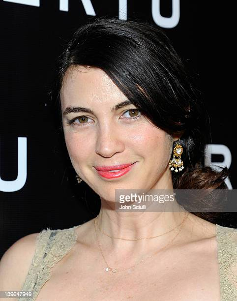 Actress Shiva Rose arrives at Vertu and Gelila and Wolfgang Puck Celebrate the Oscars and Dream for Africa Foundation at CUT on February 23, 2012 in...