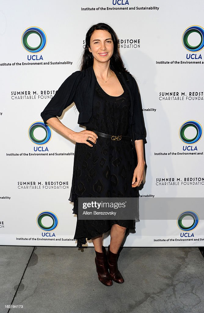Actress Shiva Rose attends UCLA Institute Of The Environment And Sustainability's 2nd Annual 'An Evening Of Environmental Excellence' - Arrivals on March 5, 2013 in Beverly Hills, California.
