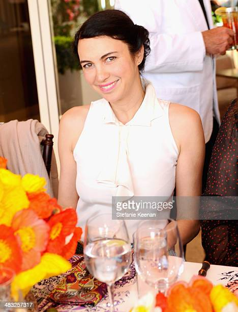 Actress Shiva Rose attends Vogue Lunch In Celebration Of The Etro Spring Collection Hosted By Sally Singer at Sunset Tower Hotel on April 3 2014 in...