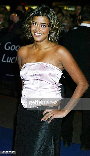 Actress Shobna Gulati arrives at the '10th Anniversary National Television Awards' on October 26 2004 at the Royal Albert Hall in London The...