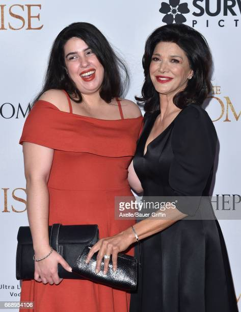 Actress Shohreh Aghdashloo and daughter Tara Touzie arrive at the Premiere of Open Road Films' 'The Promise' at TCL Chinese Theatre on April 12 2017...