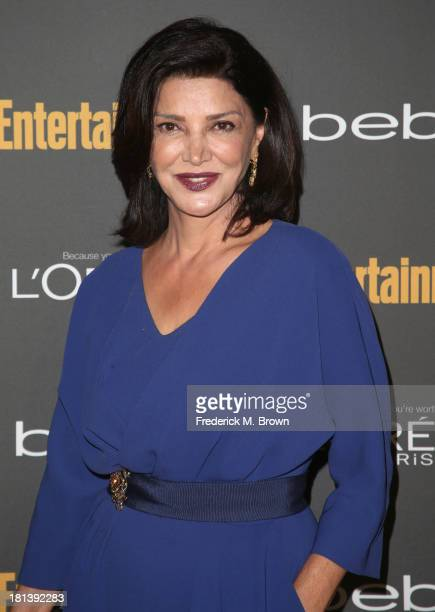 Actress Shohreh Aghdashloo arrives at Entertainment Weekly's Pre-Emmy Party at Fig & Olive Melrose Place on September 20, 2013 in West Hollywood,...