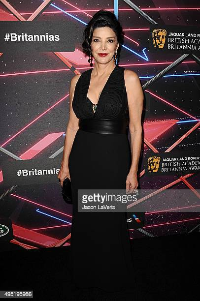Actress Shohreh Aghdashloo attends the 2015 British Academy Britannia Awards at The Beverly Hilton Hotel on October 30 2015 in Beverly Hills...