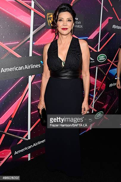 Actress Shohreh Aghdashloo attends the 2015 Jaguar Land Rover British Academy Britannia Awards presented by American Airlines at The Beverly Hilton...