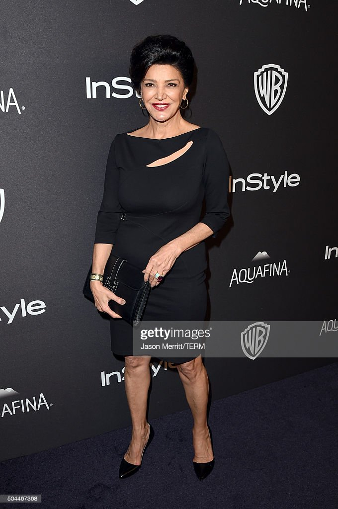 Actress Shohreh Aghdashloo attends The 2016 InStyle And Warner Bros. 73rd Annual Golden Globe Awards Post-Party at The Beverly Hilton Hotel on January 10, 2016 in Beverly Hills, California.