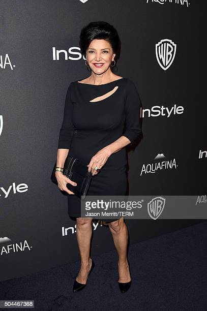 Actress Shohreh Aghdashloo attends The 2016 InStyle And Warner Bros. 73rd Annual Golden Globe Awards Post-Party at The Beverly Hilton Hotel on...