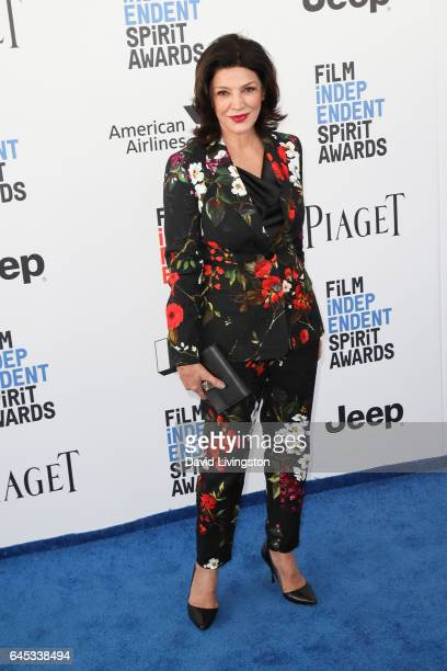 Actress Shohreh Aghdashloo attends the 2017 Film Independent Spirit Awards on February 25 2017 in Santa Monica California