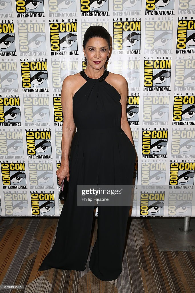 Actress Shohreh Aghdashloo attends 'The Expanse' press line during Comic-Con International 2016 on July 23, 2016 in San Diego, California.
