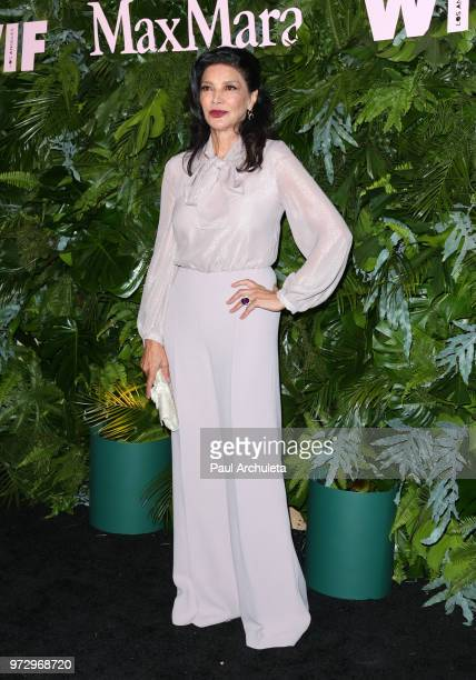 Actress Shohreh Aghdashloo attends the Max Mara WIF Face Of The Future event at the Chateau Marmont on June 12 2018 in Los Angeles California