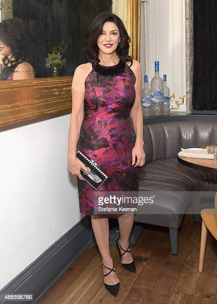Actress Shohreh Aghdashloo attends the Septembers of Shiraz TIFF Party Hosted By GREY GOOSE Vodka at Byblos on September 15 2015 in Toronto Canada