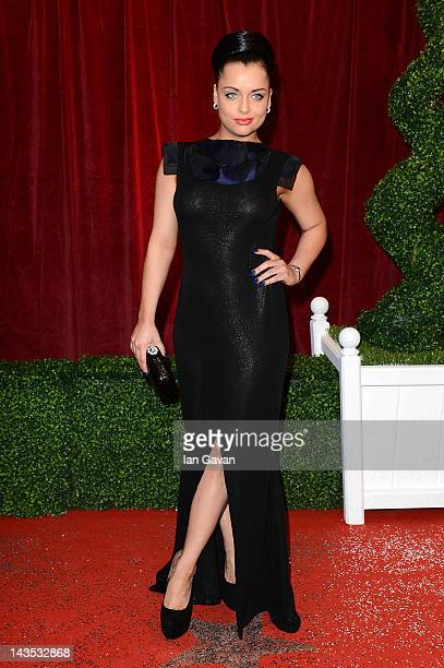 Actress Shona McGarty attends The 2012 British Soap Awards at ITV Studios on April 28 2012 in London England