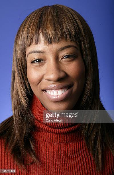 """Actress Shondrella Avery of the film """"Napoleon Dynamite"""" poses for portraits during the 2004 Sundance Film Festival January 17, 2004 in Park City,..."""
