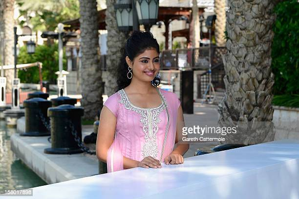 Actress Shravanthi Sainath attends the 'Life of PI' photocall during day one of the 9th Annual Dubai International Film Festival held at the Madinat...