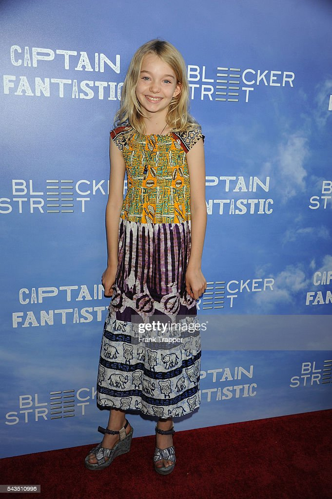 Actress Shree Crooks attends the premiere of Bleecker Street Media's 'Captain Fantastic' held at the Harmony Gold Theater on June 28, 2016 in Hollywood, California.