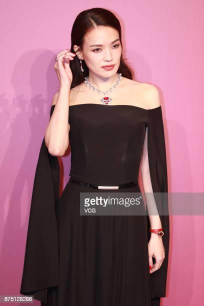 Actress Shu Qi attends Bvlgari Festa high jewelry event at Bvlgari hotel on November 16 2017 in Beijing China