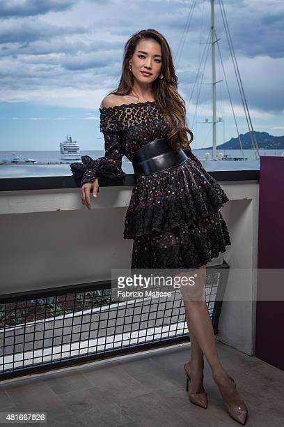 Actress Shu Qi is photographed for The Hollywood Reporter on May 15 2015 in Cannes France
