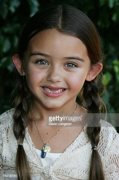Actress Shyann McClure attends the 4th annual Bogart Backstage Children's Choice Awards at the Hollywood Palladium on November 5 2006 in Hollywood...