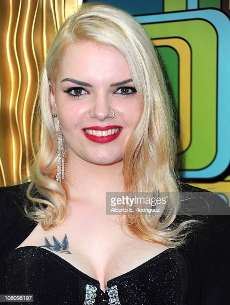Actress Sianoa SmitMcPhee attends HBO's Post 2011 Golden Globe Awards Party held at The Beverly Hilton hotel on January 16 2011 in Beverly Hills...