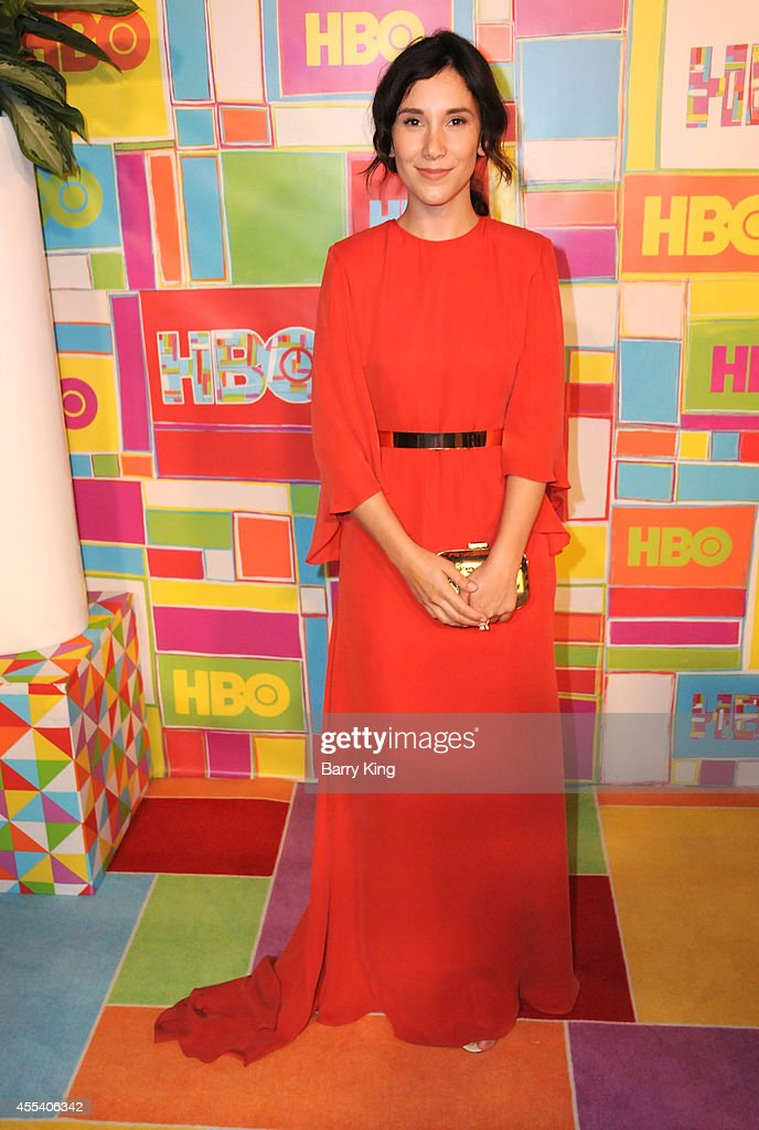 Actress Sibel Kekilli attends HBO's 2014 Emmy after party at The Plaza at the Pacific Design Center on August 25, 2014 in Los Angeles, California.