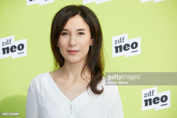 Actress Sibel Kekilli photogrpahed during a photo call for the ZDFneo productions 'Bruder Schwarze Macht' and 'Lobbyistin' at the ZDF regional studio...