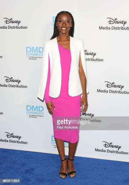 Actress Sibongile Mlambo attends the Disney/ABC International Upfronts at the Walt Disney Studio Lot on May 20 2018 in Burbank California
